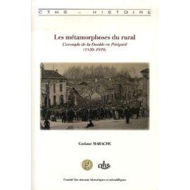 Les métamorphoses du rural. L'exemple de la Double en Périgord (1830-1939)