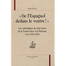 « De l'Espagnol dedans le ventre ». Les catholiques du Sud-Ouest de la France face à la Réforme (v. 1540-1589)