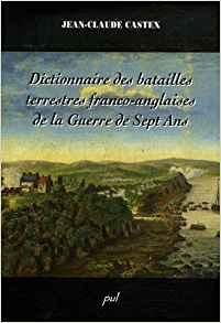 Dictionnaire des batailles terrestres franco-anglaises de la Guerre de Sept Ans