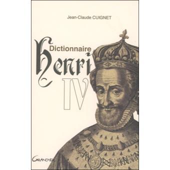 Dictionnaire Henri IV
