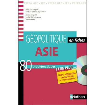 Géopolitique en fiches – Asie