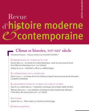 « Climat et histoire »