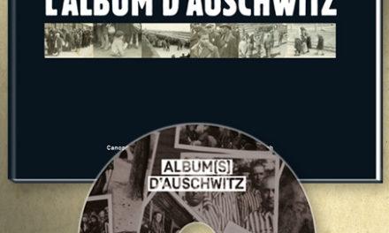 Couverture du livre L'album d'Auschwitz