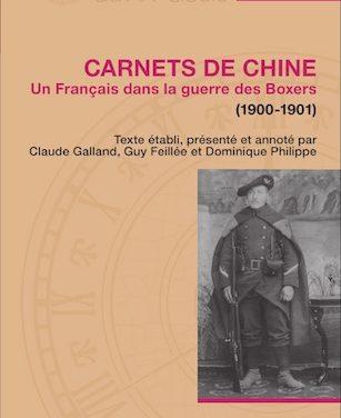 Carnets de Chine – Un Français dans la guerre des Boxers (1900-1901)
