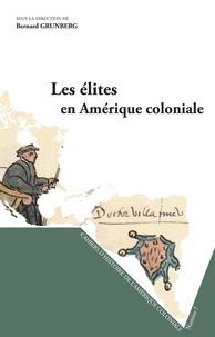 Les élites en Amérique coloniale
