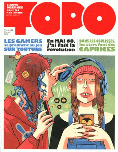 TOPO, l'actu dessinée pour les moins de 20 ans