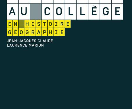 Être enseignant au collège en histoire-géographie