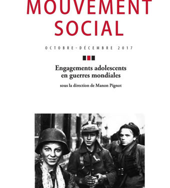 Engagements adolescents en guerres mondiales