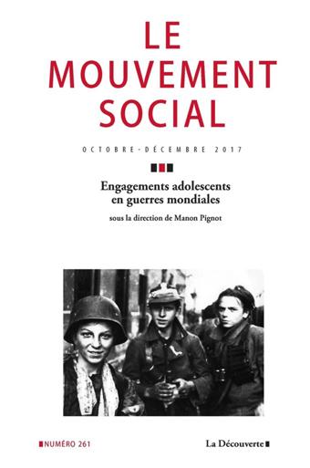 Engagements adolescents en guerres mondiales