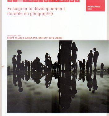 Populations et territoires  – Enseigner le développement durable en géographie