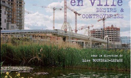 Image illustrant l'article 1er couv- Nature en ville_Bourdeau-Lepage de La Cliothèque