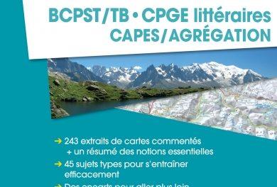 couverture Mémento géographie BCPST CPGE littéraires CAPES/Agrégation Cédrick Allmang (Dir.), Vuibert, Collection « Vuibert Prépas », 2018
