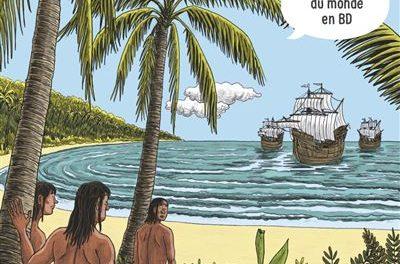 Image illustrant l'article L-histoire-du-monde-en-BD-Les-grandes-decouvertes de La Cliothèque