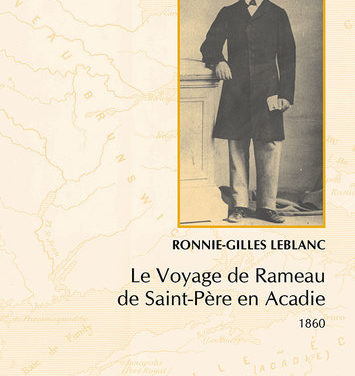 Le Voyage de Rameau  de Saint-Père en Acadie