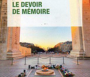 couverture du livre Le devoir de mémoire PUF, Que sais-je ? n° 4125, 2018, 126 pages, 9 €