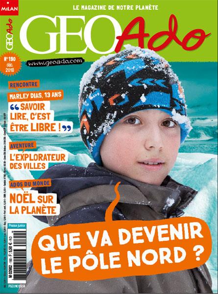 GeoAdo, le magazine de notre planète, n° 190