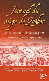 Le journal du siège de Québec du 10 mai au 18 septembre 1759