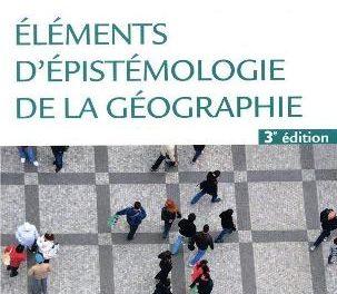 Couverture du livre Éléments d'épistémologie de la géographie de Antoine Bailly, Robert Ferras, avec la collaboration de Renato Scariati