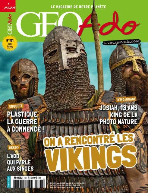 GéoAdo le magazine de notre planète, numéro 191