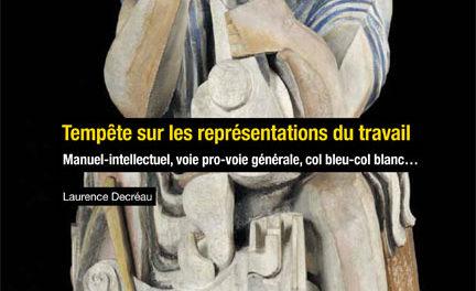 couverture Tempête sur les représentations du travail Laurence Decréau Presses des Mines, 2019