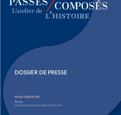Un nouvel éditeur : Éditions Passés composés