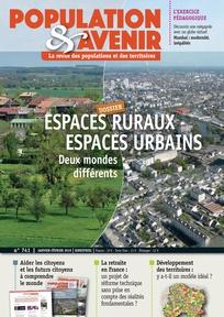 Espaces ruraux / Espaces urbains : deux mondes différents