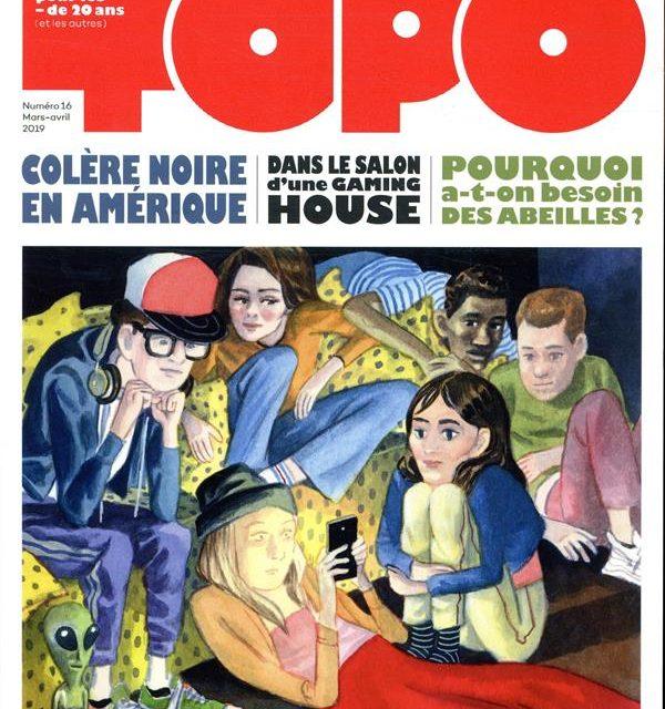Topo numéro 16,  l'actu dessinée pour les moins de 20 ans