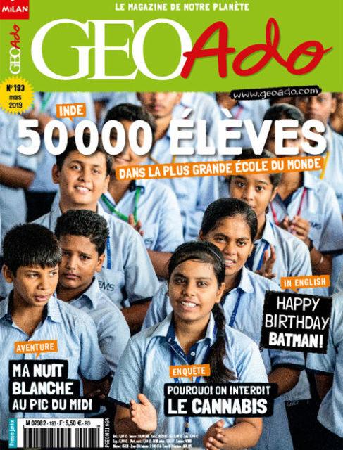 GéoAdo le magazine de notre planète, n° 193