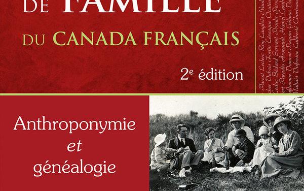 Dictionnaire des noms de famille du Canada français