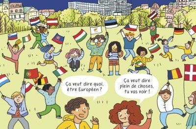 Image illustrant l'article L-Europe-en-BD de La Cliothèque
