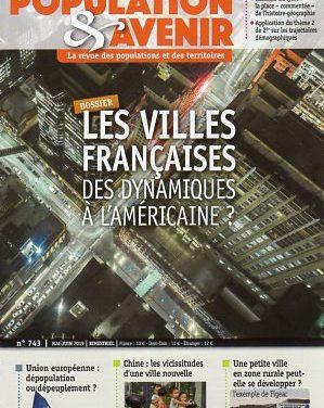 Les villes françaises – Des dynamiques à l'américaine ?