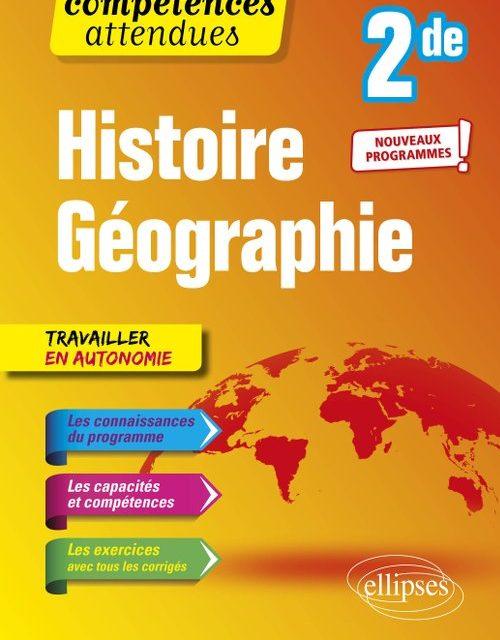 Histoire-Géographie 2nde