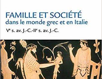 Image illustrant l'article 13Bis-Famille et société dans le monde grec et en Italie de La Cliothèque