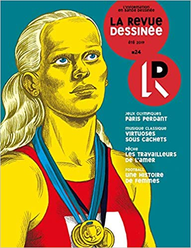 La Revue dessinée n° 24 : l'information en bande dessinée