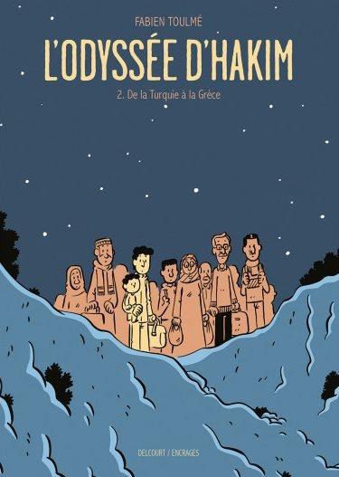 <em>L'Odyssée d'Hakim</em>. Tome 2, « De la Turquie à la Grèce »