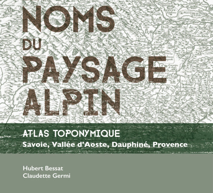 Les noms du paysage alpin