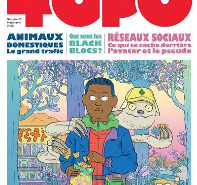 Topo n° 22, l'actu dessinée pour les moins de 20 ans (et les autres)