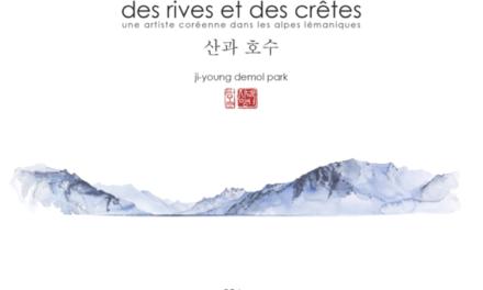 couverture Des rives et des crêtes Ji-Young Demol Park Glénat, 96 pages, Juin 2020