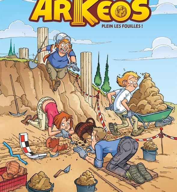Les Arkéos, T.1 Plein les fouilles !