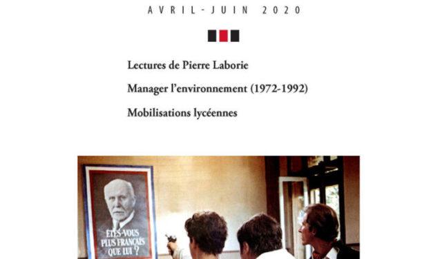 Le mouvement social, n°271