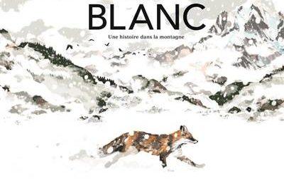 Couv. Blanc – Une histoire dans la montagne