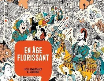 Image illustrant l'article 28Bis-Histoire dessinée de la France. La Renaissance de La Cliothèque