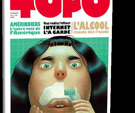 Topo n° 26, l'actu dessinée pour les moins de 20 ans