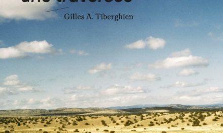 couverture du livre Le Paysage est une traversée de Gilles A. Tiberghien paru aux éditions Parenthèses, 201 p., 2020, 28€