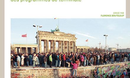 couverture du livre Enseigner l'histoire-géographie : mise en oeuvre des programmes de terminale CANOPE