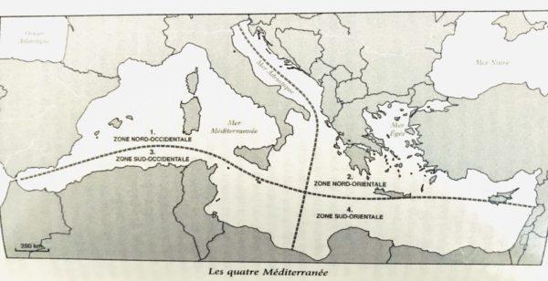 Les 4 Méditerranée linguistiques (LJ Calvet)