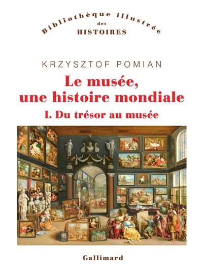 Le musée, une histoire mondiale – volume I – Du trésor au musée