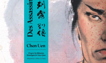 couverture Des Assassins, Chen Uen, Pataoy, 2021