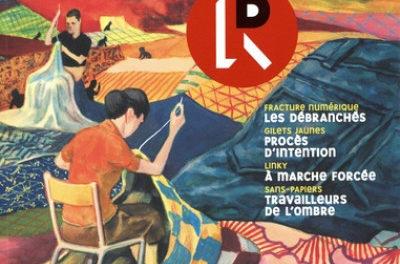 Couverture de La revue dessinée n° 30 hiver 2020-2021, 226 pages, 16 euros.