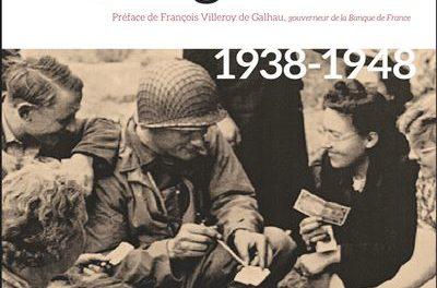 couverture du livre Billets en guerre. 1938-1948 de Jean-François Camus